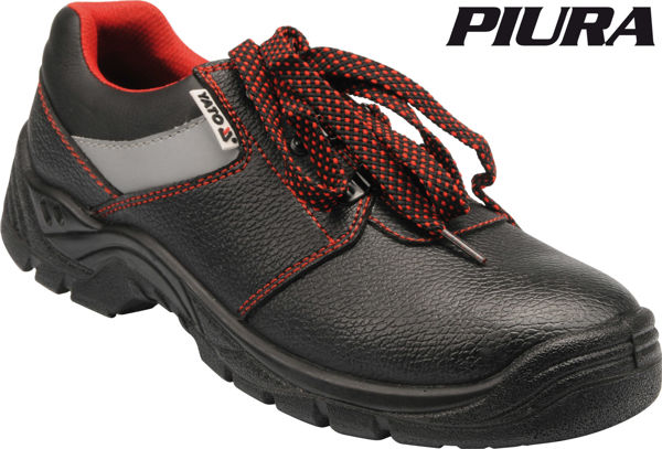 Picture of LOW-CUT SAFETY SHOES EUROPEAN SIZE 41 BLACK
