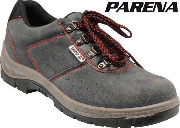 Picture of LOW-CUT SAFETY SHOES EUROPEAN SIZE 43 GRAY